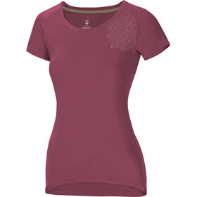 Ocun Raglan T-shirt Dames, roze